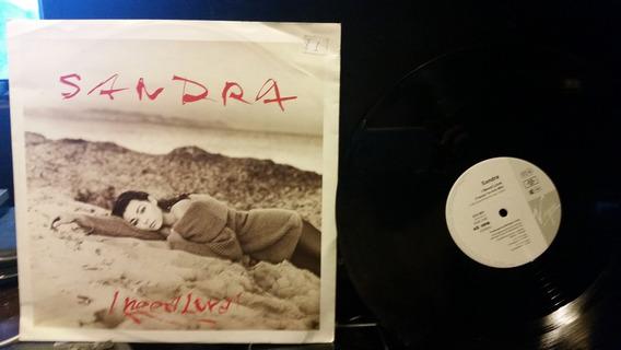 Sandra I Need Love Vinilo Maxi 12 Germany