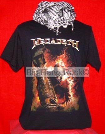 Remera Megadeth Talle X L Extra Large ( 56 Cm X 75 Cm )