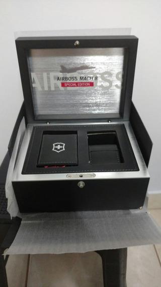 Caixa Edição Limitada Victorinox Mach 8 Airboss