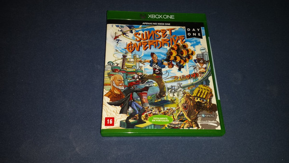 Sunset Overdrive Midia Fisica Xbox One Game Jogo