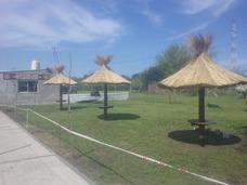 Sombrilla De Paja Para Patio O Jardin. 2,50 Mts De Diametro