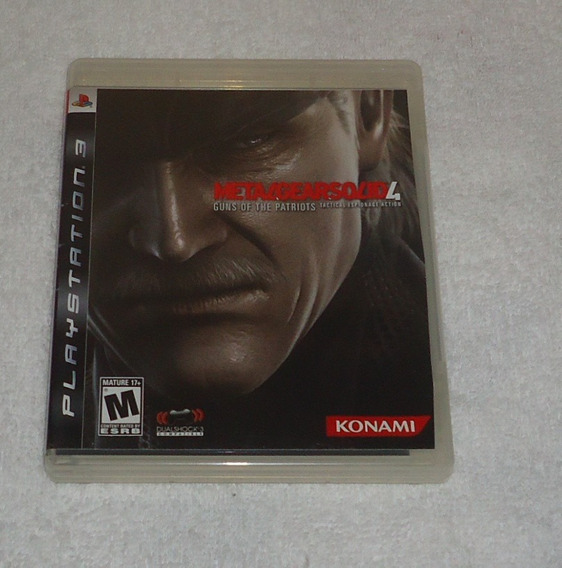 Metal Gear Solid 4 Ps3 ** Frete Gratis Leia