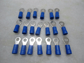 20 Terminais Pre Isolado Tipo Anel 1,5a2,5mm