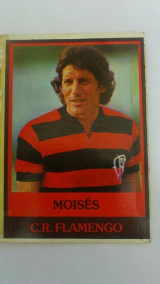 Futebol Cards Moises Ping Pong Flamengo