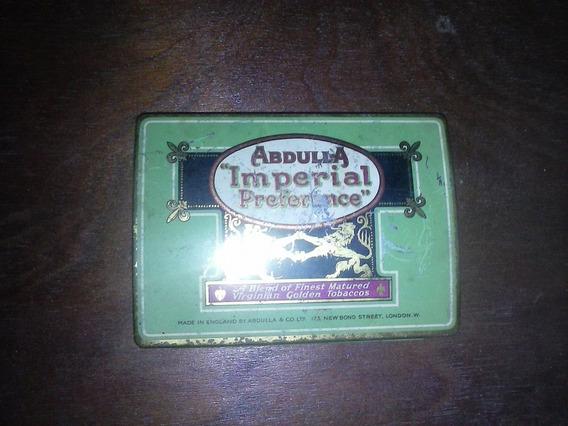 Lata De Cigarros Abdulla Imperial Preference.