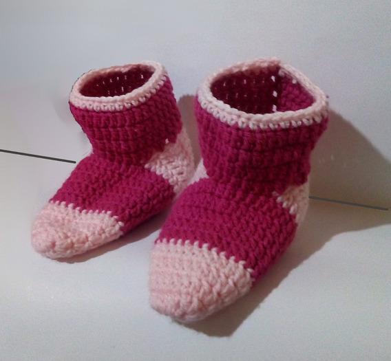 Pantuflas De Lana Tejidas Al Crochet Invierno 2016
