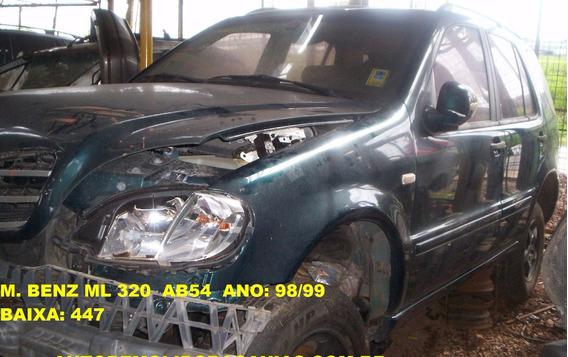 Velocimetro C/conta Giro Ml320 98/99