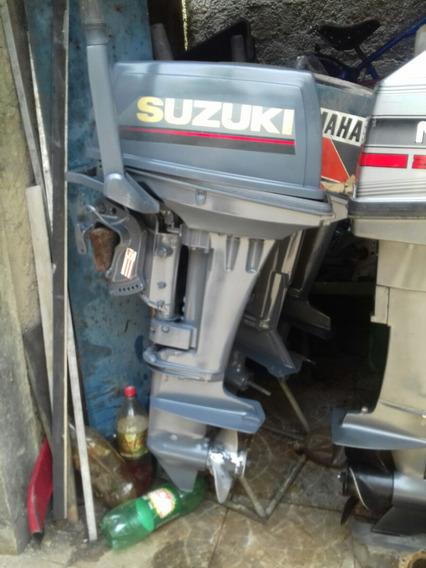 Motor De Popa Suzuky 15 Hp Com Nota Fiscal