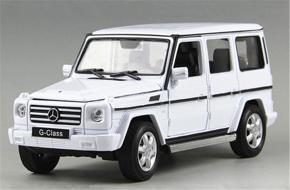 Auto Colección Escala 1:24 Welly Mercedes Benz G-class
