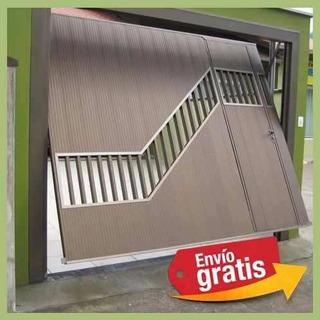 Projeto Portão Basculante Completo Porta Garagem