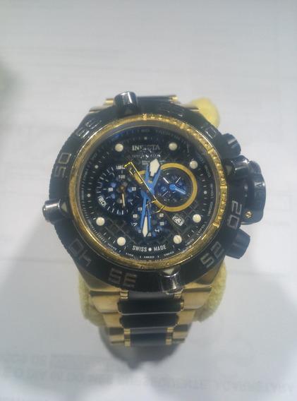 Relógio Invicta Subaqua Em Ouro E.u.a