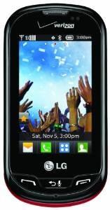 Lg Extravertido Teléfono Prepagada (verizon Wireless)