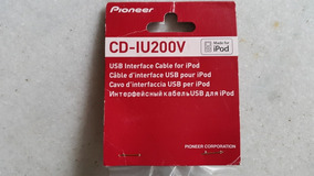 Cabo Pioneer Ipod Iphone Cd-iu200v Equivale Ao Cd-iu201v