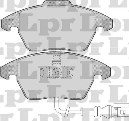 Pastillas De Freno Lpr Audi A1 10/.... Sistema Ate