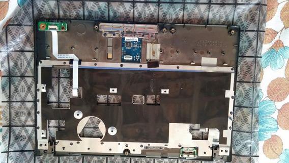 Carcaça Base Do Teclado Do Netbook Megaware Cassic 10