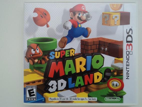 Super Mario 3d Land - Nintendo 3ds - Em 12x Sem Juros!!!