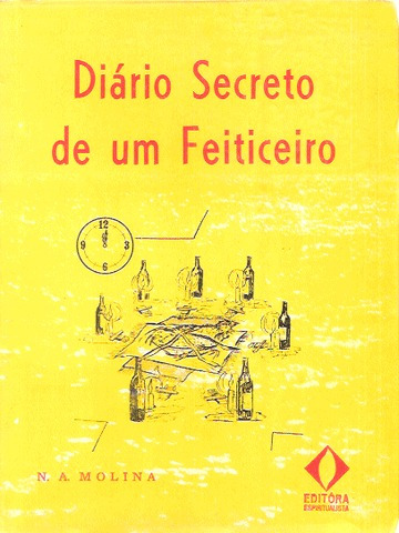 Livro Diario Secreto De Um Feiticeiro N A Molina Da Editora