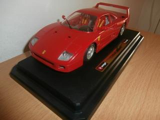 Ferrari F40 1987 Burago Escala: 1:24