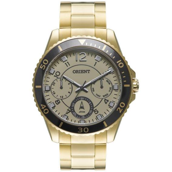 Relógio Orient Feminino Dourado Multifunção Fgssm042 C2kx