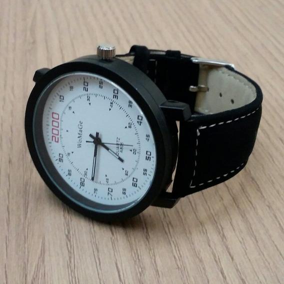 Relógio Masculino Tamanho Grande Womage