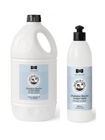 Kit De Shampoos Neutro Secagem Rápida Perigot, 5 L + 500 Ml