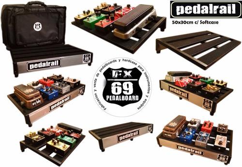 Pedalboard Rail 50x30cm (pedales Guitarra Ibanez Mxr Boss)