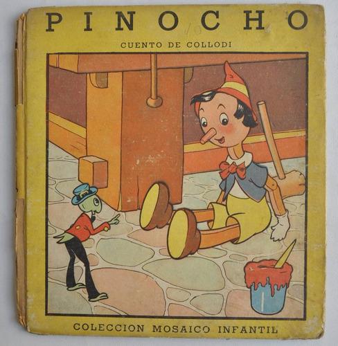 Pinocho Cuento Collodi Mosaico Infantil Ed Sigmar 1946