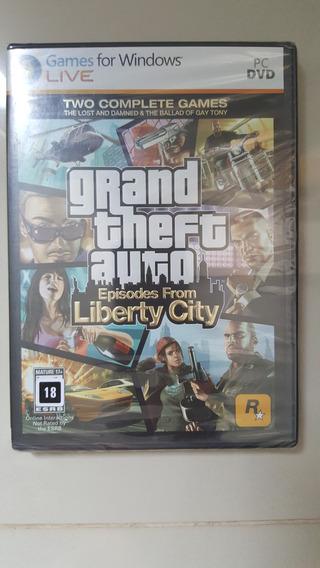 Jogo Pc - Gta Liberty City - Original Lacrado