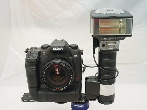 Saldo Flash Pro Metz 45 Ct5 Digital Canon Nikon Sigma