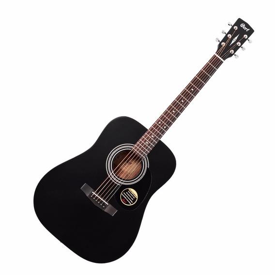 Cort Guitarra Electro Acustica Ad810e-bks