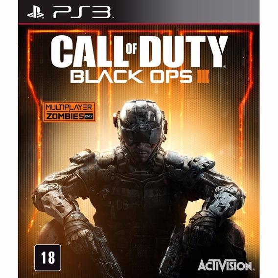 Jogo Ps3 Call Of Duty Black Ops 3 Lacrado