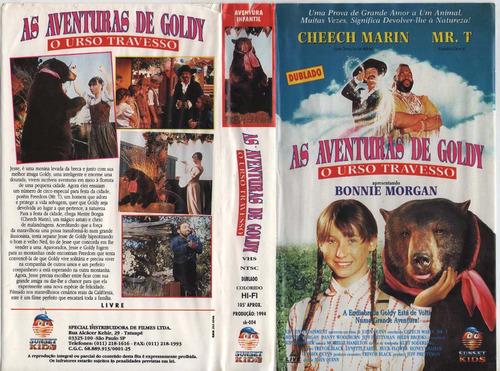 As Aventuras De Goldy O Urso Travesso - Mr T - Dublado | Mercado Livre