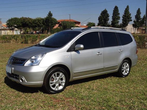 Nissan Grand Livina 2013 Sl 1.8 Flex 7 Lugares Automática