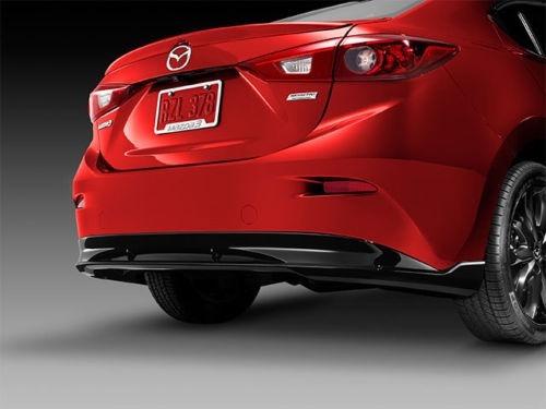 Difusor De Parachoque Trasero Mazda 3 2015-2016