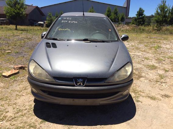 Sucata Peugeot 206 1.0 16v 2003 Gasolina - Rs Auto Peças