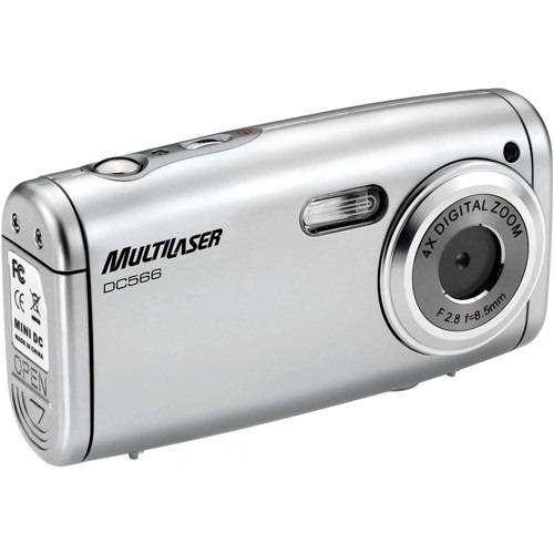 Câmera Digital Dc 566 Prata