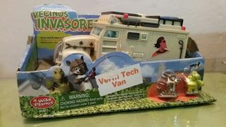 Vecinos Invasores Verm Tech Van Incluye A Verne Y R J