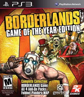 Borderlands 1 + 2 Goty - Ps3 - Digital - Manvicio Store