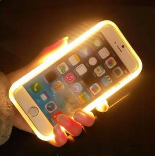 Capa Iphone 6 6s Com Luz Para Selfie Iluminação Led Case