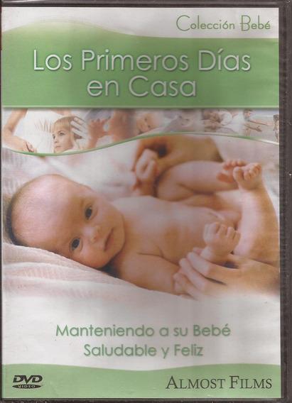 Dvd Coleccion Bebe Los Primeros Dias En Casa ( Sellado)