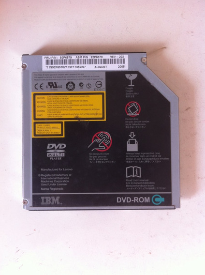 Driver De Dvd Original Notebook Ibm R52 Mod Gdr-8083n