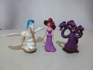 Lote Mc Donald´s Hércules Megara Pegaso Hidra Disney 1997