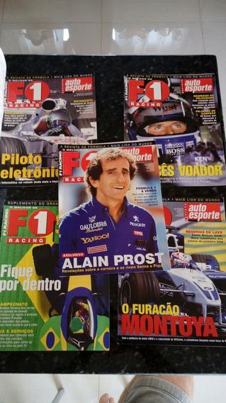F1 Racing Suplemento Lote Com 5 Revistas
