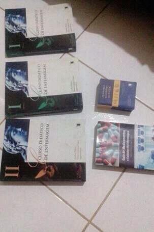 Kit Enfermagem 5 Livros