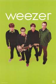 Poster Banda Grupo Weezer Importado Raro