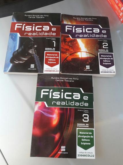 Coleção Três Livrosmanual Do Professor Física Ensi Médio..