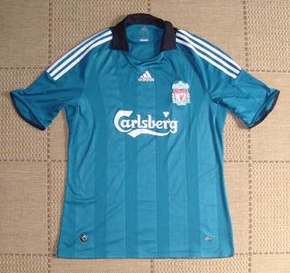Camisa Original Liverpool 2008/2009 Third
