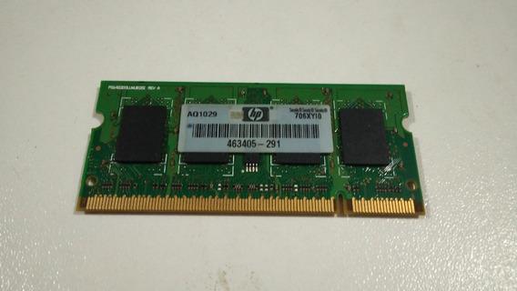 Memoria Para Notebook Smart Ddr2 1gb - 6400 - 666 2rx8