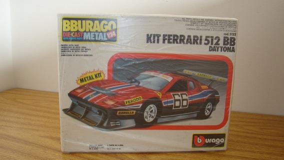 Burago 5133 Ferrari 512bb Daytona Raro Kit 1/24 Ertl Autoart
