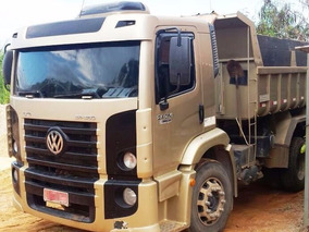 Vw 24250 Ano 2007 Truck Morto Caçamba Basculante